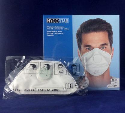 Atemschutzmaske FFP3 faltbar