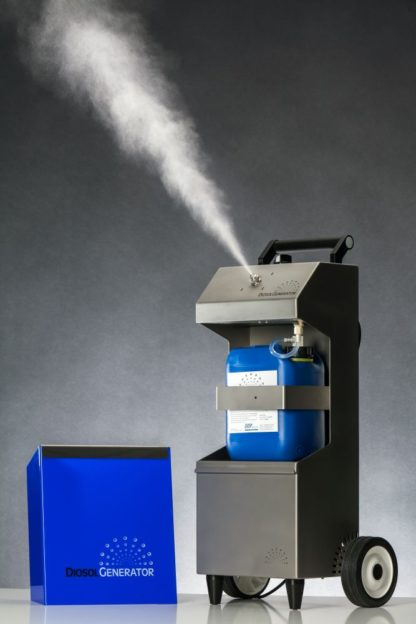 DiosolGenerator Protec Professional geöffnet