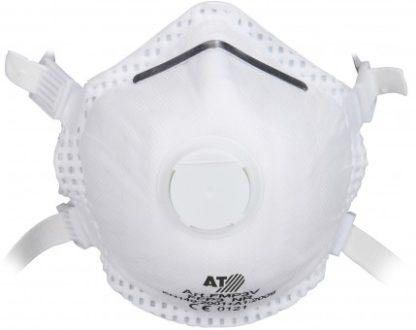 Feinstaubmaske FFP3 muschelform mit Ventil